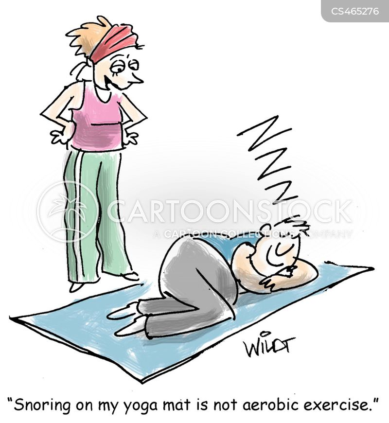 aerobic exercise cartoon
