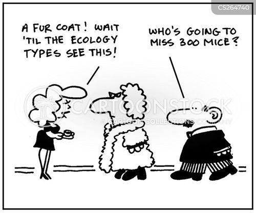 ecology type cartoon