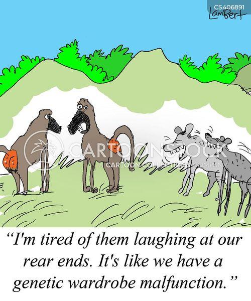 hyenas cartoon