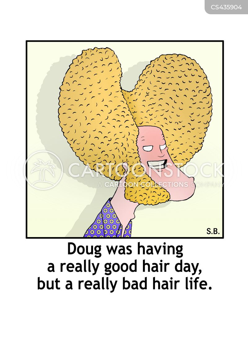 Bad Hair cartoons, Bad Hair cartoon, funny, Bad Hair picture, Bad Hair pictures, Bad Hair image, Bad Hair images, Bad Hair illustration, Bad Hair illustrations