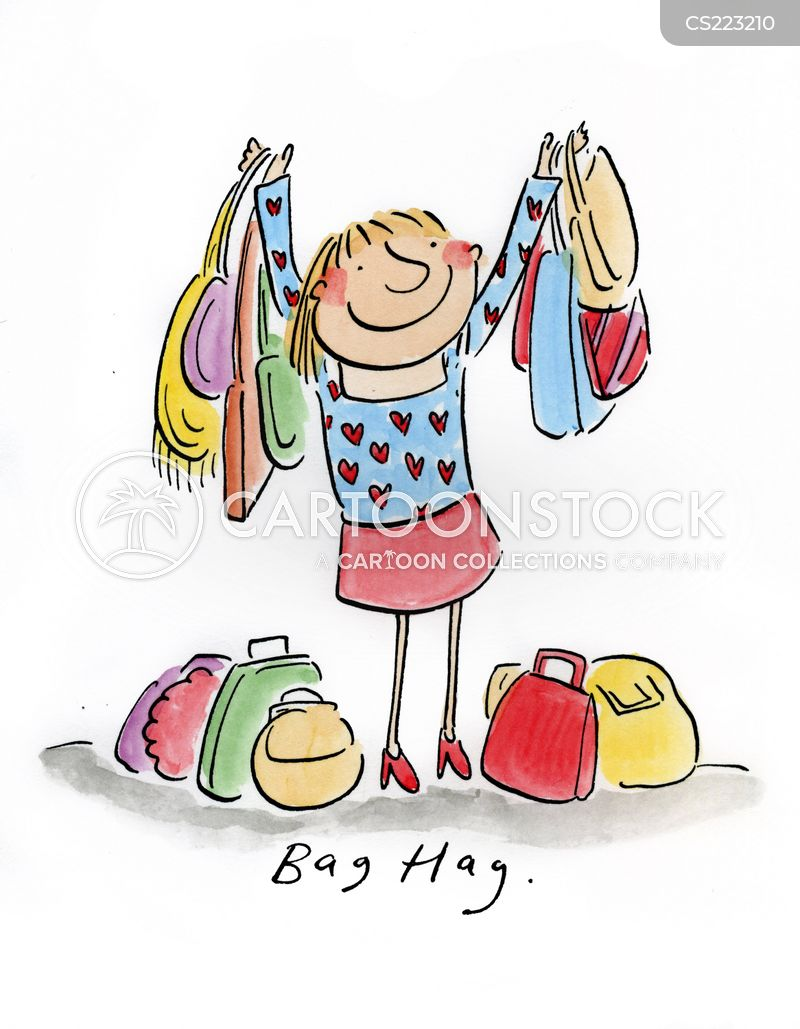 bag obsessions cartoon