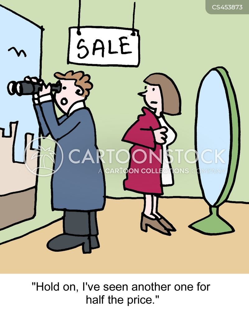 good deals cartoon
