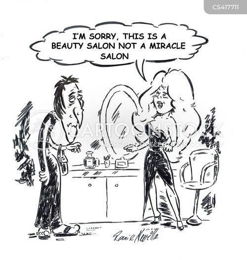 beauty health cartoon salon funny cartoons salons treatment spa beautician comics cartoonstock itu gue yang cucok satu situ begitu nemu