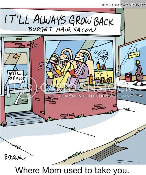 beauty spas cartoon