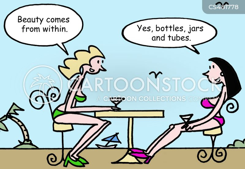 artificial beauty cartoon