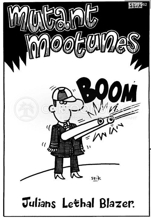 blazers cartoon