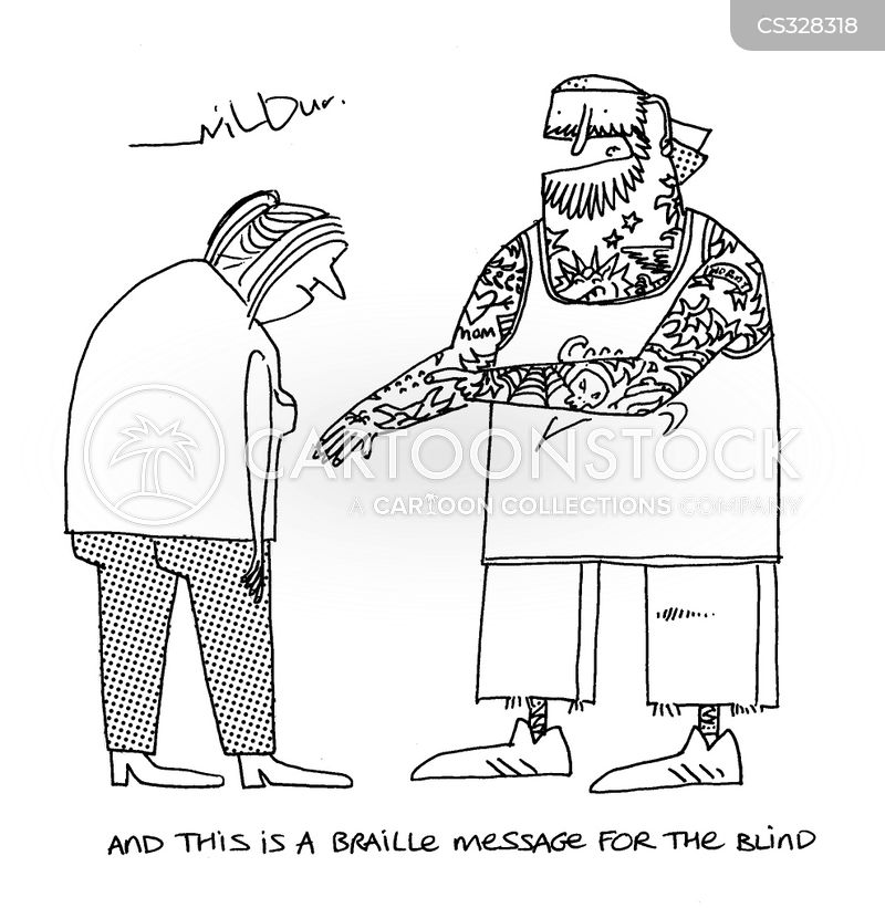 braille cartoon