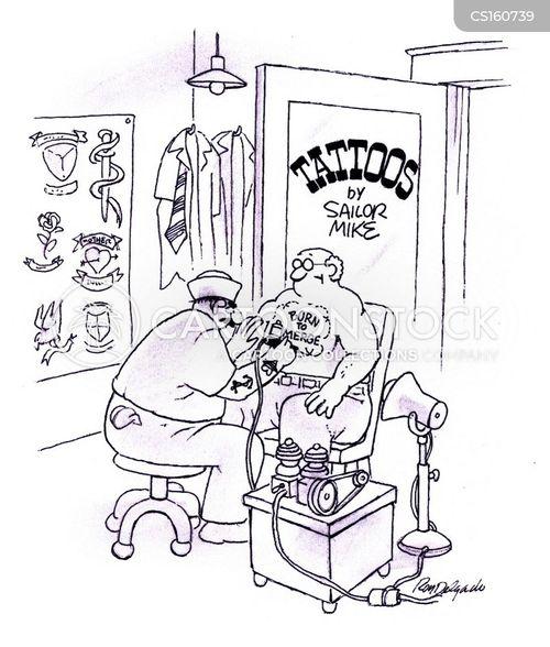 parlour cartoon