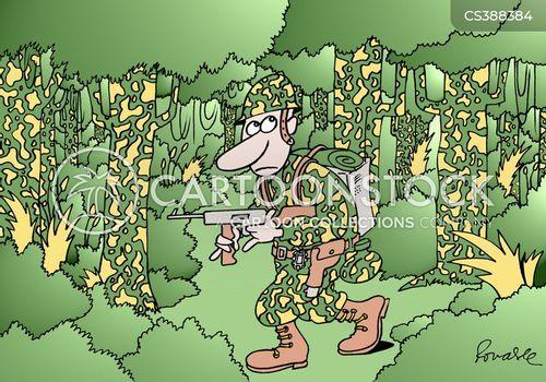 camoflage cartoon