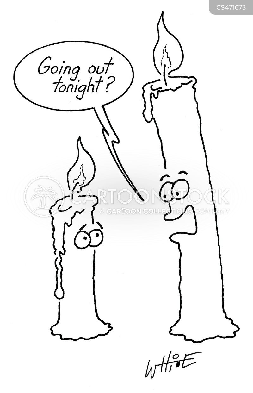 aflame cartoon