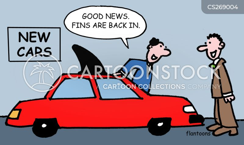 car designers cartoon