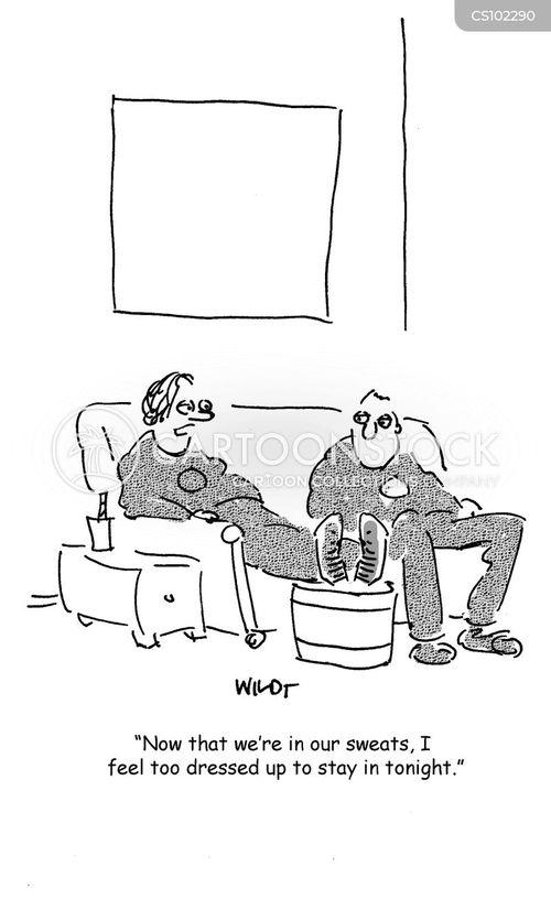 night in cartoon