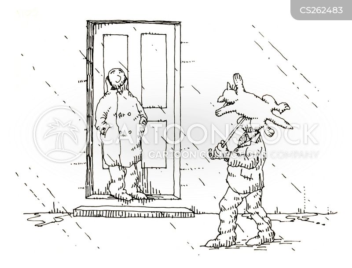 raincoat cartoon