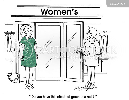 womenswear cartoon