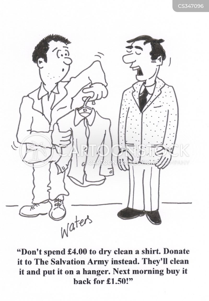 clean shirts cartoon