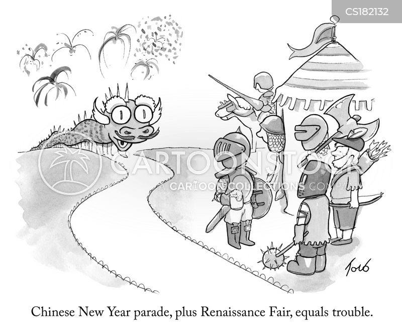 renaissance fayre cartoon