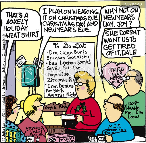 sweatshirt cartoon