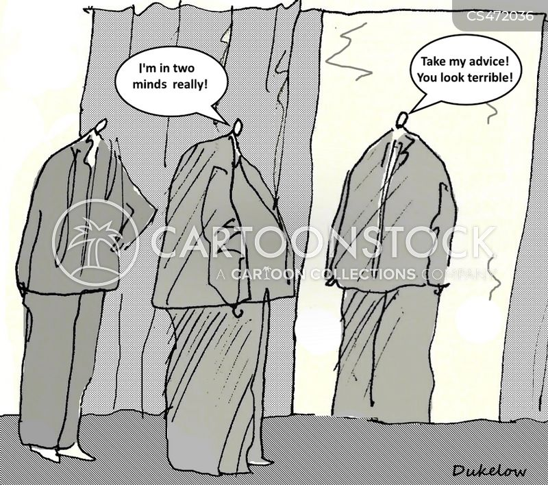 two minds cartoon