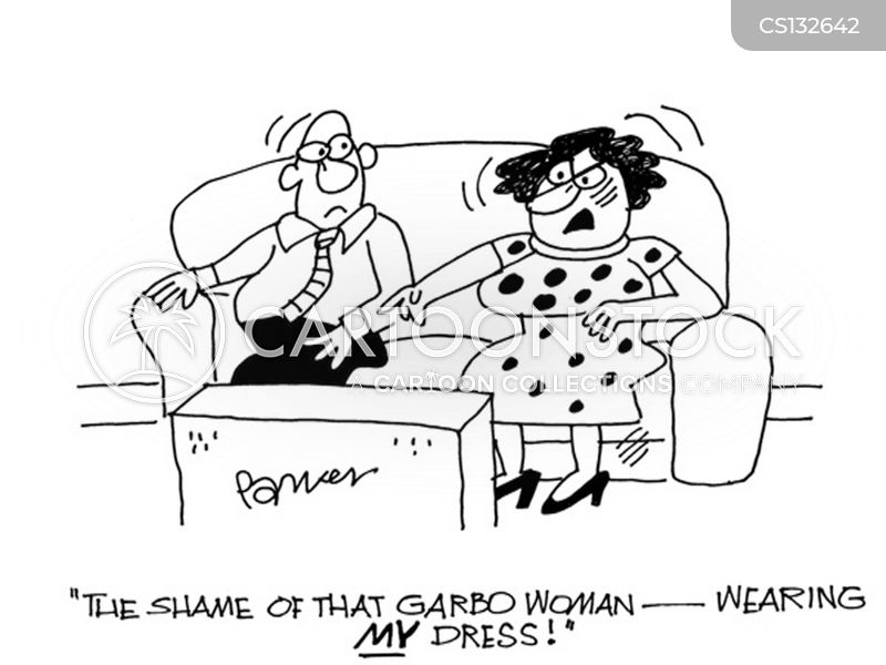 wearing clothes cartoon