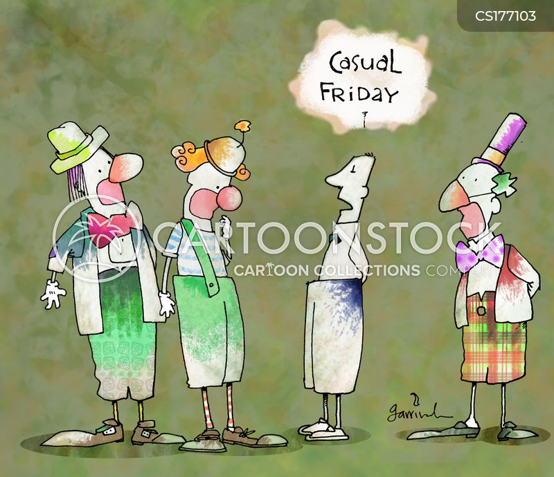 Dress-down Fridays cartoons, Dress-down Fridays cartoon, funny, Dress-down Fridays picture, Dress-down Fridays pictures, Dress-down Fridays image, Dress-down Fridays images, Dress-down Fridays illustration, Dress-down Fridays illustrations