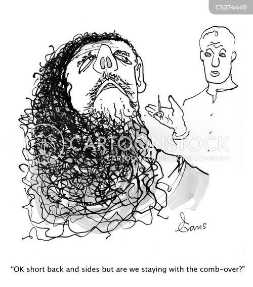 comb-over cartoon