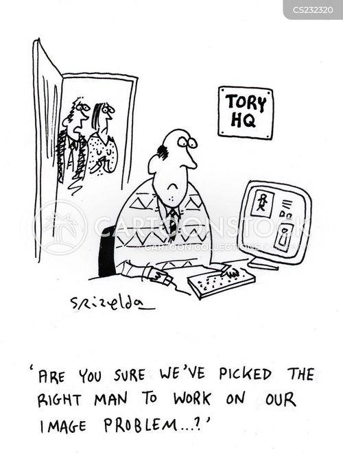 michael howard cartoon