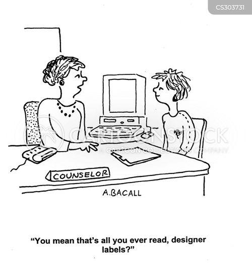 school counselors cartoon
