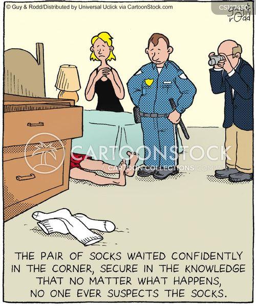 dirty sock cartoon