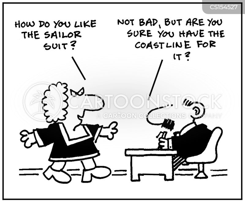 sailor suit cartoon
