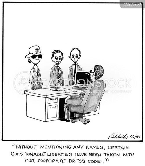 taking liberties cartoon