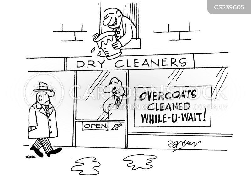 laundrettes cartoon