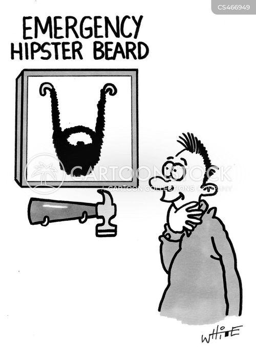 hipster fashions cartoon