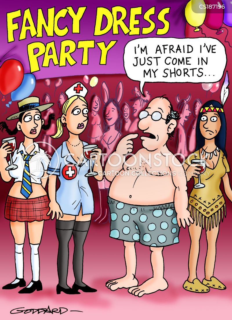 fancy dress parties cartoon