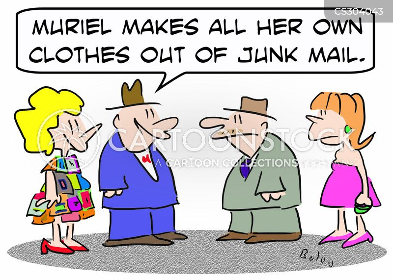 seamstress cartoon