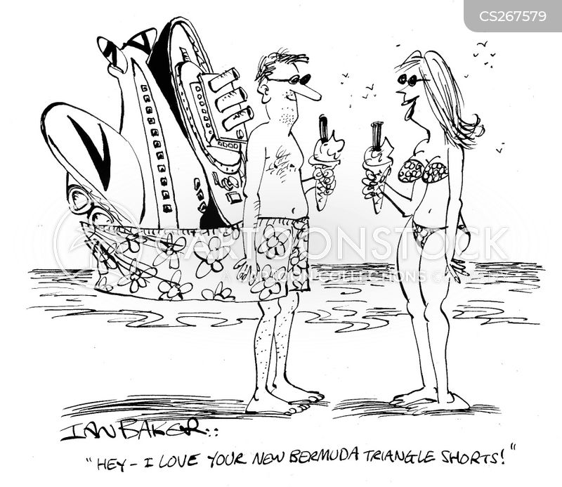 swimming shorts cartoon