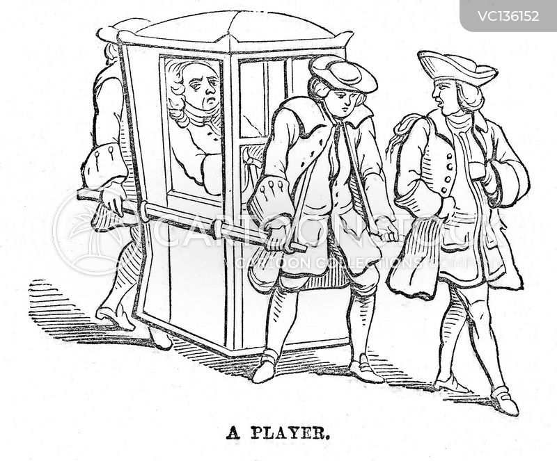 Sedan Chairs cartoons, Sedan Chairs cartoon, funny, Sedan Chairs picture, Sedan Chairs pictures, Sedan Chairs image, Sedan Chairs images, Sedan Chairs illustration, Sedan Chairs illustrations