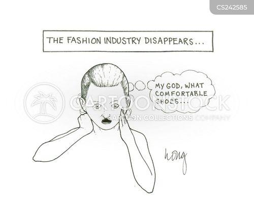 slave to fashion cartoon