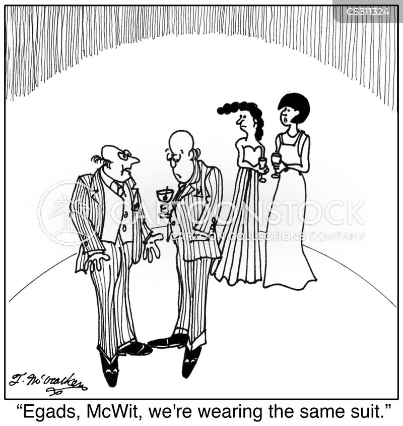 fashion mistakes cartoon