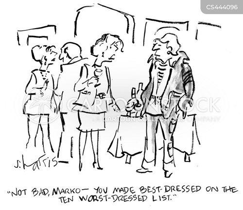 Best Dressed Cartoon