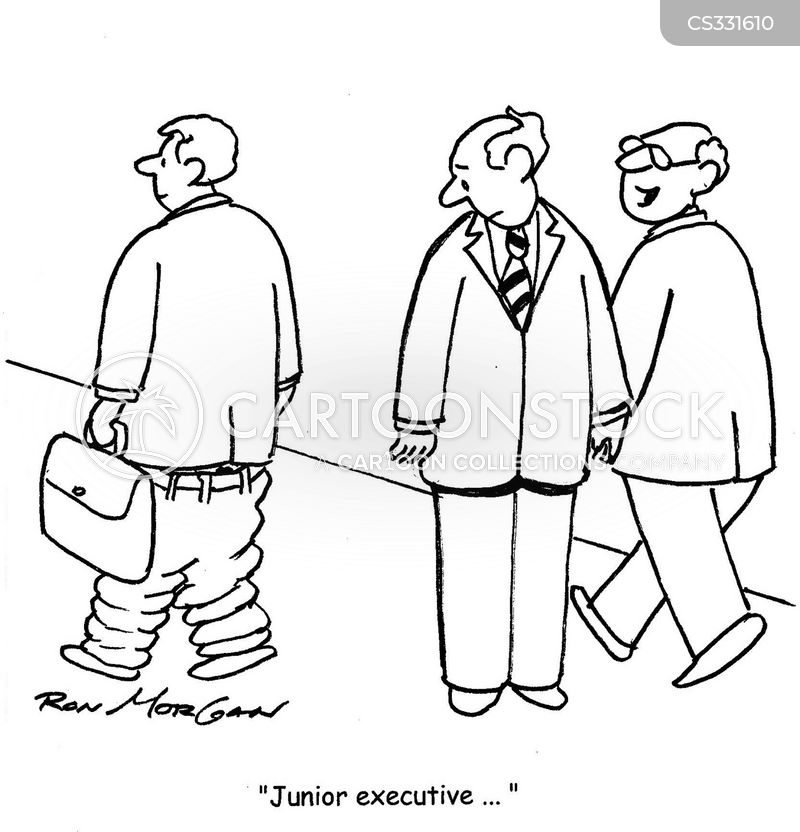 junior execs cartoon