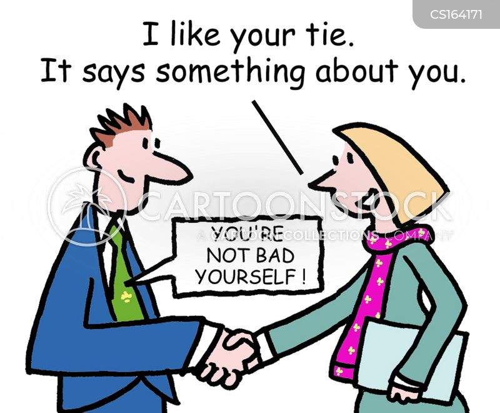 neck ties cartoon