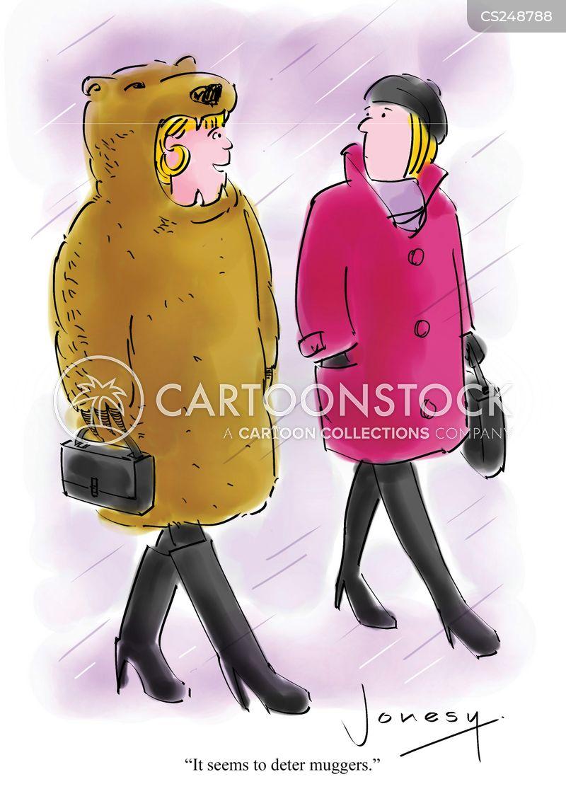 bearskin cartoon