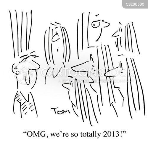 last year cartoon