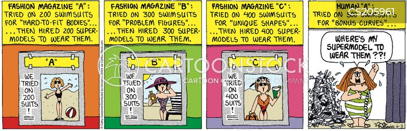bathing suits cartoon