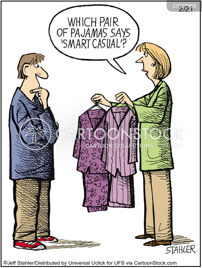 Dress Code Cartoons and Comics - funny pictures from