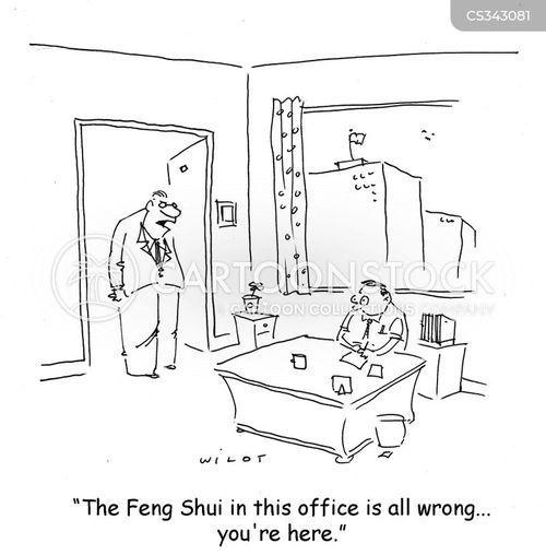 office design cartoon