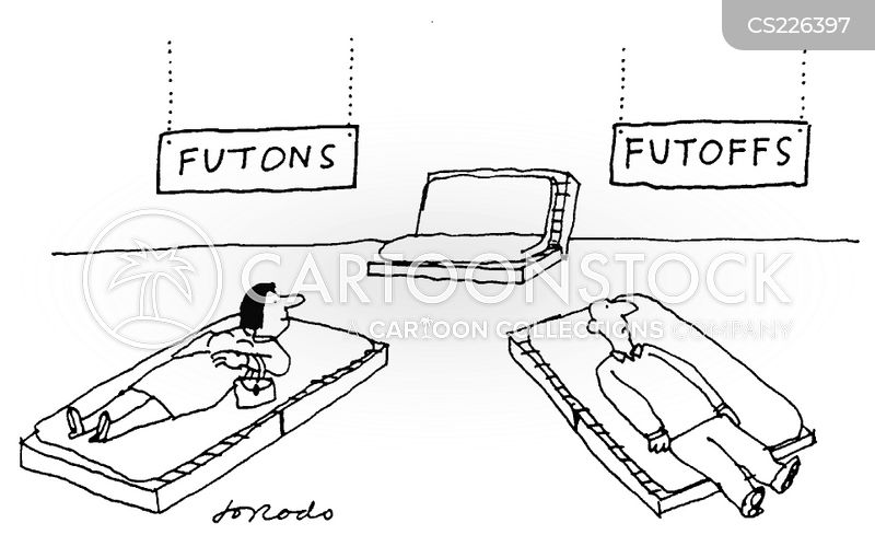 futon cartoon
