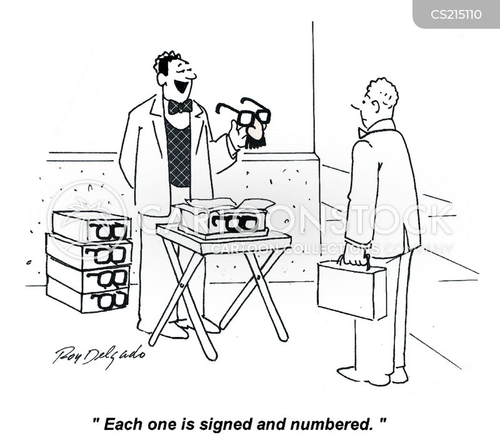 street sellers cartoon