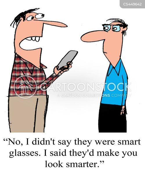 smart devices cartoon