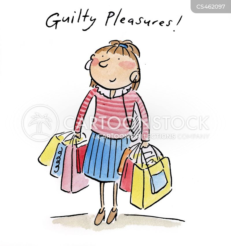 Guilty Pleasures Cartoons And Comics Funny Pictures From Cartoonstock